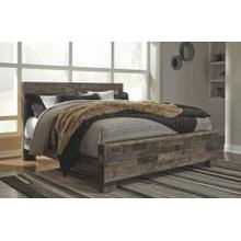 See Details - Derekson- Multi Gray- King Panel Bed