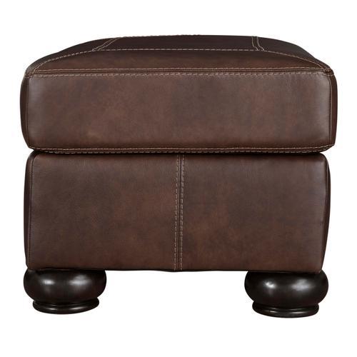 Bearmerton Leather Ottoman
