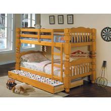 Acme 02575 4.5 Post T/T Bunk Bedroom set Houston Texas USA Aztec Furniture
