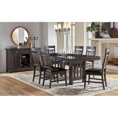 Bremerton Grey Table and 6 Chairs