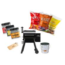 See Details - Treager Pro Wood Pellet Grill Startup Package
