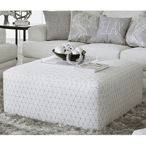 Jackson Furniture - Relax Cocktail Ottoman Patterned Cream