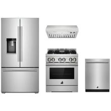 """See Details - JennAir Rise Stainless 30"""" Gas Range Package"""