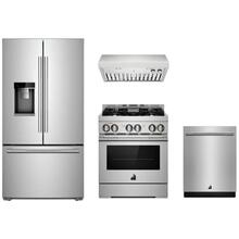 "JennAir Rise Stainless 30"" Gas Range Package"