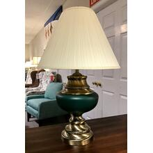 Katy Creek Hunter Green Lamp