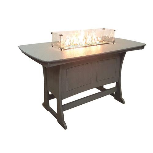 Classic Bar Height Fire Table