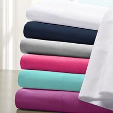 Microfiber Sheet Set - Queen (Blue)