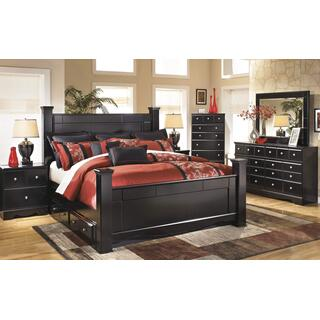 Shay Queen Bed w/ Storage