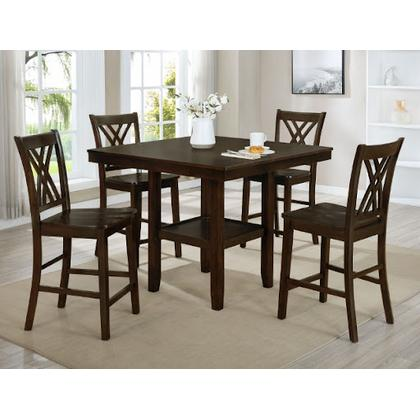 See Details - Josie - 5 PC Counter Height Table Set