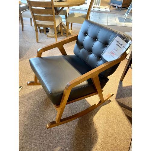 Elements - Ingram Pine Rocking Accent Chair