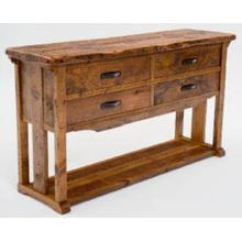 See Details - Mustang Canyon 4 Drawer Sideboard
