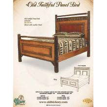 Old Faithful Panel Bed