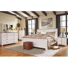 Willowton - Queen Panel Bed, Dresser, Mirror, & 1 X Nightstand
