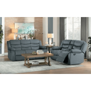 Discus Reclining Sofa and Loveseat