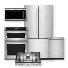"""KITCHENAID 20 Cu. Ft. Counter-Depth French Door Refrigerator & Smart Oven  30"""" Combination Oven Package"""