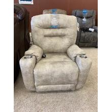 Southern Motion Front Row SoCozi Rocker with Power Headrest in 113-15 Montaqulia Stucco