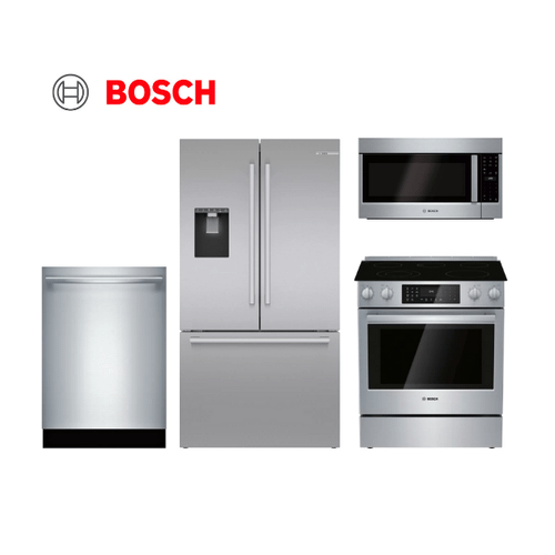 Bosch 4 Piece Stainless Steel Kitchen Package