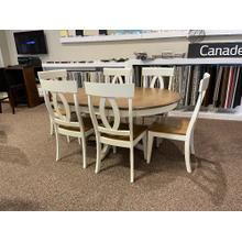 GOURMET DINING SET WITH 6 CHAIRS