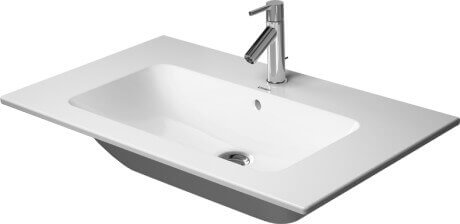 ME by Starck Wall mounted Washbasin in white