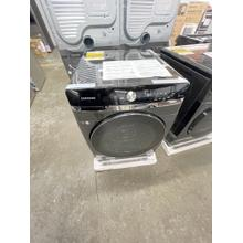 See Details - ***ANKENY LOCATION***5.0 cu. ft. Extra-Large Capacity Smart Dial Front Load Washer with OptiWash™ in Brushed Black **DENT ON SIDE**FACTORY WARRANTY**