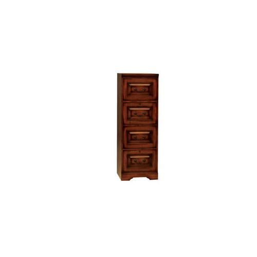 Country Cherry 4-Drawer File Cabinet