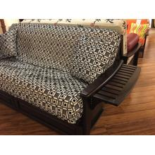 Tray Arm Futon Frame Full Size