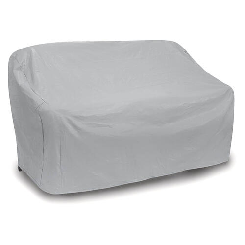 Oversized Two Seat Wicker Sofa Cover