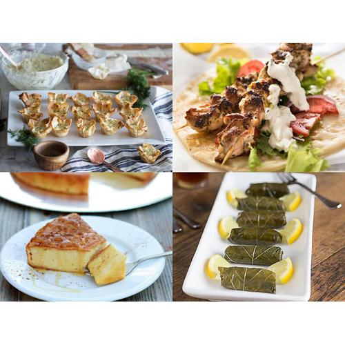 SOLD OUT - September 19th - 6:00pm - 8:00pm - Greek Islands Cooking Class with Chef Goldie