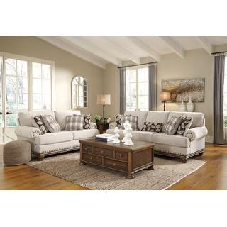 Harleson Sofa and Loveseat Set
