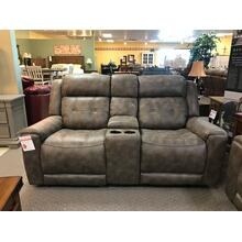 See Details - Rancho Gliding Reclining Loveseat with Console