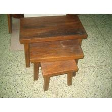 Rustic Nesting Tables - Set of 3