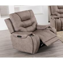 LIFESTYLE U80143-21 Canyon Gray Power Recliner
