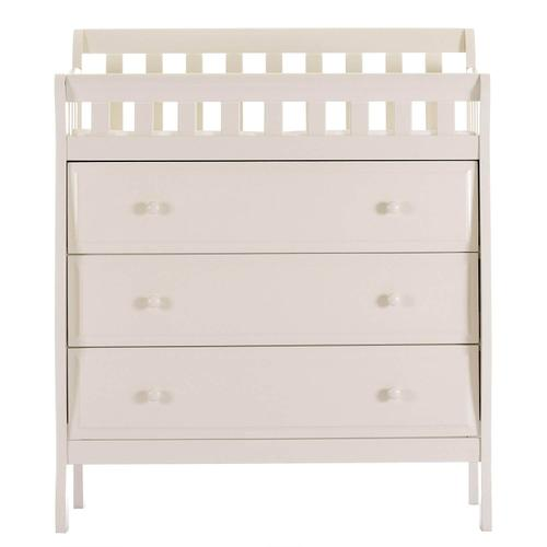 Marcus Changing Table and Dresser- French White