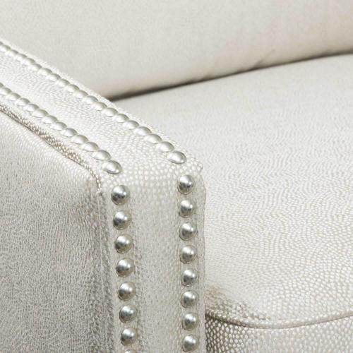 Accent Chair with Nailhead Trim