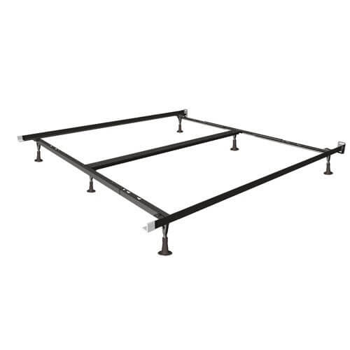 Mantua Queen/King Deluxe Insta-Lock Bed Frame with Glides
