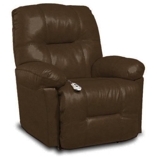 Best Home Furnishings - ZAYNAH Leather Power Recliner - Walnut