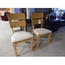 Two Slat Back Side Chairs