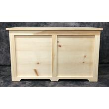 Maine Made Toy Chest 36 36W X 22H X 18D Pine Unfinished