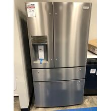 Frigidaire Gallery 21.8 Cu. Ft. Counter-Depth 4-Door French Door Refrigerator **OPEN BOX ITEM**  West Des Moines Location