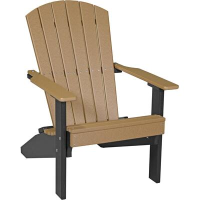Lakeside Adirondack Chair Cedar and Black