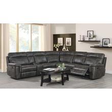 See Details - KLAUSSNER SILAS RECLINING SECTIONAL