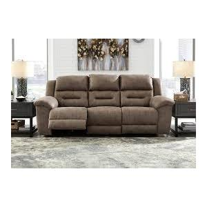 CLEARANCE Stoneland Reclining Sofa - Fossil