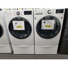 Product Image - LG Front Load Washer Gas Dryer Set DLGX3901W WM3900HWA (FLOOR MODEL)