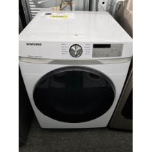 """See Details - Samsung 27"""" Electric Dryer DVE45R6100W (FLOOR MODEL)"""