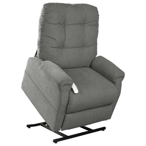 Gallery - 4001 Popstitch Pebble Lift Chair Grey