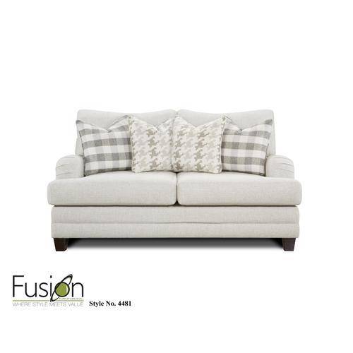 Fusion Furniture - Loveseat Basic Wool