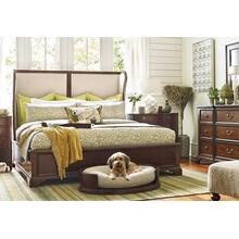 Rachael Ray - Upstate - Upholstered Shelter Bed, Queen 5/0