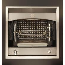 La Cornue Flamberge Rotisserie Premium Stainless Steel w/ Nickel & Brushed Stainless Trim