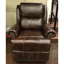 Dark Brwon Power Recliner