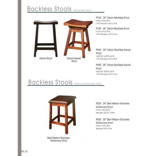 Door County Furniture - Amish Stools Assorted